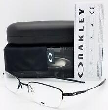 0815b0c2fc2fc NEW Oakley OX3133 RX Eyeglass Frame Black OX3133-0253 53mm Rimless Half Rim  grey