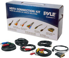 PHDMIKT1 HDTV Audio Video Cable Connection Kit works w/Plasma LCD LED DLP DVD