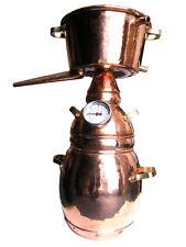 """2-Liter Alquitara """"Luxus"""" mit Thermometer - ätherische Öle - Destille 2L"""