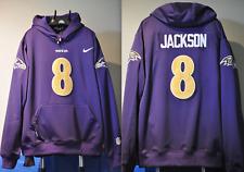 Lamar Jackson Baltimore Ravens Jersey NFL Hooded Sweatshirt Embroidered Hoodie