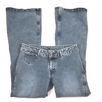 Silver brand women's vintage jeans size 31 darker wash, boot cut, slits in hem