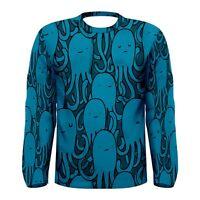 New Octopus Pattern Men's Long Sleeve T-shirt S,M,L,XL,2XL,3XL free shipping