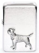 Border Terrier Gift Lighter Petrol Lighter FREE ENGRAVING Gift Boxed