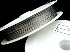 1 x 50 Metre Roll / Reel of 0.45mm Quality Tiger Tail Jewellery Beading Wire ML
