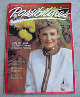 Vintage May June 1985 Possibilities The Magazine of Hope