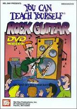 YOU CAN TEACH YOURSELF ROCK GUITAR NEW BEGINNER DVD