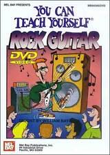 YOU CAN TEACH YOURSELF ROCK GUITAR NEW BEGINNER DVD