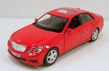 """RMZ city Mercedez Benz E63 AMG 1:36 scale 5"""" diecast model car Red R05"""