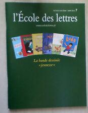 L'école des lettres 2009/2010 écoles collèges la bande dessinée jeunesse