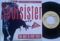 "Soulsister / The Way To Your Heart / Facts zu Soulsister 7"" Single Vinyl 1988"