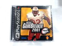 NCAA GameBreaker 2001 PS1 Complete CIB Sony PlayStation 1 Game TESTED + WORKING!