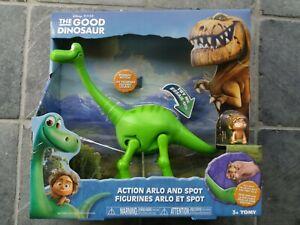 The good dinosaur Arlo and Spot toy RARE NEW Disney Pixar