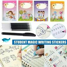 Reusable Magic Calligraphy Handwriting Copybook Set Student Practice Writing Kit