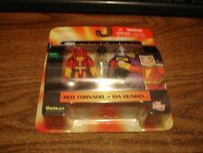 2007 Art Asylum DC minimates Red Tornado & Ma Hunkel set series 5 MIP NEW