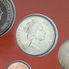 1986 20 cent specimen coin from mint set 20 cents UNC