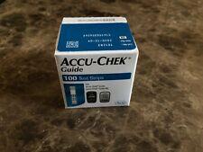 100 ACCU-CHEK Guide Retail Test Strips EXP 12/2020 - FREE SHIPPING