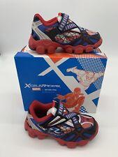Kids Boys Stride Rite Xceleracer Spiderman US 9.5 M Toddler Shoes NIB Marvel