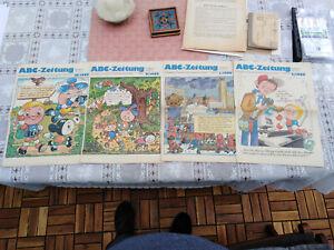 DDR  4 x ABC-Zeitung  1/ 2/ 9/ 18/ 1988