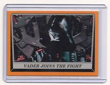 2016 Topps Star Wars Rogue One Orange Parallel sn# 27/50 Vader Joins The Fight