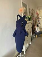 Ladies Dresses Party Occasion Dress Wedding Guest Outfit Race Day Uk Made RRP£72