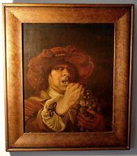 Barock Portrait der Traubenesser Oel Holz Städt. Museum Aachen