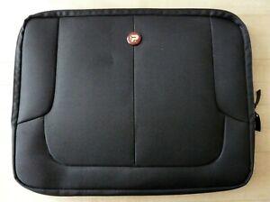 "PORT DESIGNS LONDON SKIN Black 15.6"" Laptop Notebook CASE 160506 7392 Dual Zip"