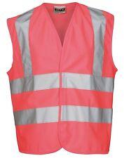 EV87 Hi-Vis Vest Kids Boys Girls RTY 2 Band & Braces Children Safety Waistcoat