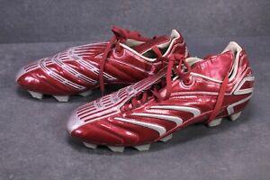 SB1005 Adidas Predator Absolado TRX FG Fußballschuhe Gr. 44 rot silber Vintage