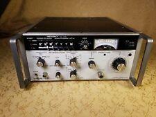 Vintage Wavetek #3006 Synthesized RF Signal Generator,Powers on,V.G.C!!