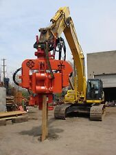 MKT V-5Esc - Side Clamp Excavator Mounted Vibratory Hammer