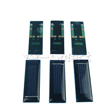 Mini Solar Panel 0.5V 100mA Solar Cells Photovoltaic Panels Battery Charger UK