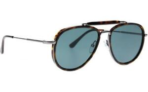 Tom Ford Tripp 0666 52N Dark Havana/ Green Pilot Sunglasses Sonnenbrille Size 58
