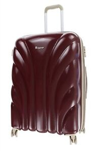 "Itluggage 159641 Unisex Deep Red / Burgundy Hard Spinner Luggage 25"""