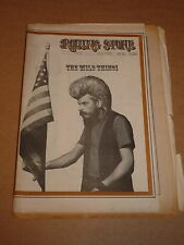 Rolling Stone Magazine #39 August 1969 Wild Thing cover (Ronnie Hawkins)