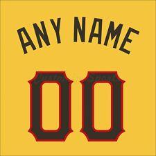 2006 todas las estrellas de la Liga Nacional de Béisbol Camiseta Personalizado Número De Kit sin costura