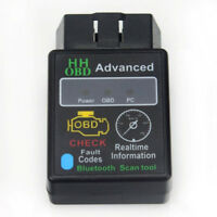 HHOBD ELM327 OBD2 OBDII Bluetooth Car Scanner tool for TORQUE ANDROID Auto