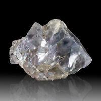 "3.3"" Transparent LightBlue FLUORITE Cubic Crystals Denton Mine Illinois for sale"