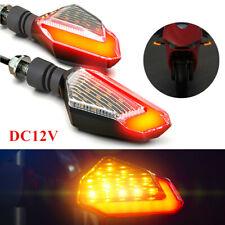 1Pair DC 12V Motorcycle Turn Signal LED Light Universal Daytime Running Light