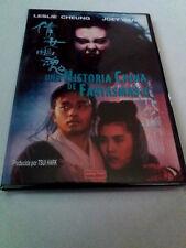 "DVD ""UNA HISTORIA CHINA DE FANTASMAS 2 II"" CHING SIU-TUNG LESLIE CHEUNG JOEY WAN"