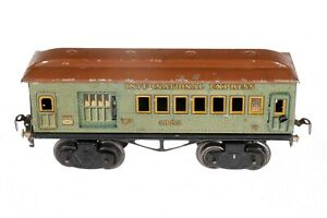 AC1741: Vintage Kraus Fandor International Express Post/ Baggage Van 0 Gauge