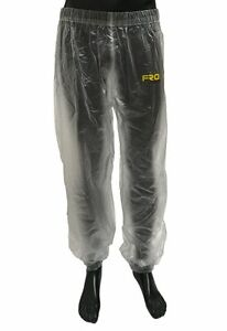 NEW Adult Clear Waterproof Race Trousers - Rain, Mud, Motocross, MX, FRO Systems
