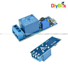 5V-30V Micro USB Power Delay Relay Timer Control Trigger Delay Switch Module