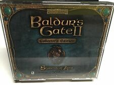 Baldur's Gate II: Shadows of Amn (PC, 2000) 4 DISC PC CD-ROM SET! IN JEWEL CASE