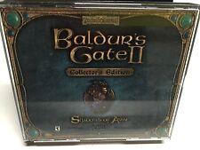 Baldur's Gate II: Shadows of Amn (PC, 2000) 4 DISC PC CD-ROM SET! IN JEWEL CASE