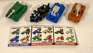 Vintage Collectible Transformers Micromasters G1 Military Patrol (1990)