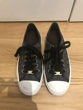 Coach, Ladies Black Trainers, Size UK 4.5 EUR 37.5, RRP £200, Worn Only Once!