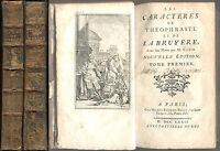 Les Caracteres de Theophraste et de La Bruyere (Characters of Theophrastus) 1772