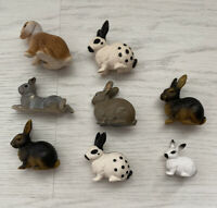 A Lot Of Schleich (and 1 Safari Brand) RABBITS Bunnies Many Retired