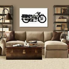 1939 Brough Superior 100SS  Motorcycle Print: Poster Photography NEW