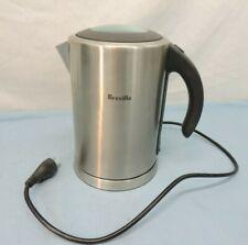 BREVILLE IKON 1.7 LITER FAST BOILER STAINLESS STEEL CORDLESS ELECTRIC KETTLE TEA
